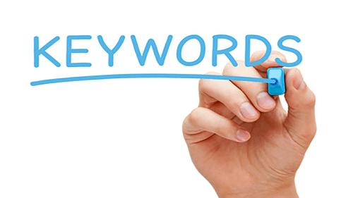 keyword being underlined