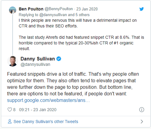 traffic-for-featured-snippet