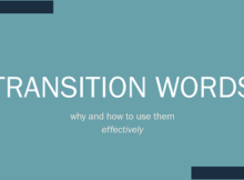 Transition Words in SEO
