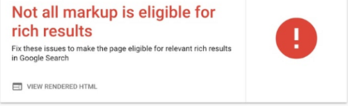 Rich results test tool  from google
