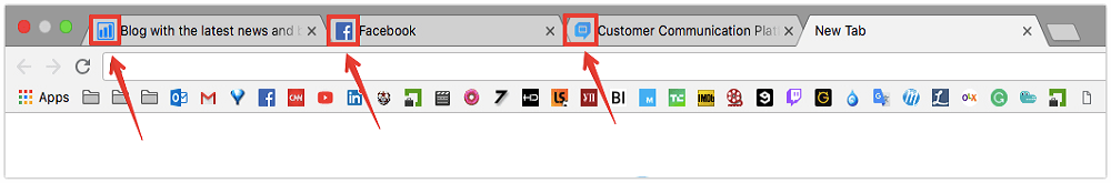 Boost organic traffic with favicons