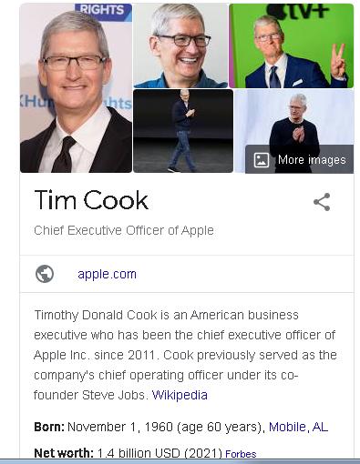 infobox Google Graph