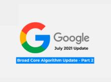 July 2021 Core Update