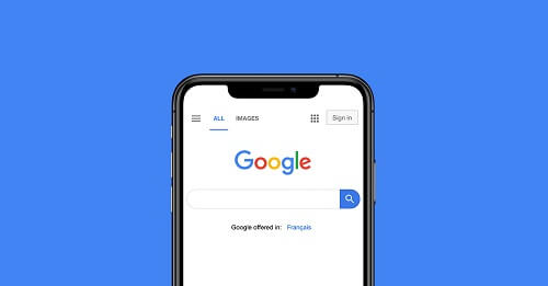 google mobile search continuous scrolling